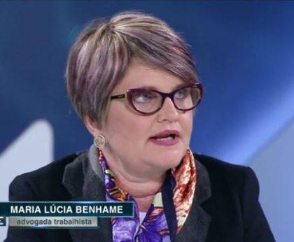 Dra. Maria Lucia Benhame em entrevista para o Canal Livre