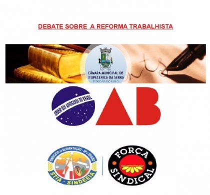 Dra. Maria Lucia Benhame participará de debate sobre reforma trabalhista