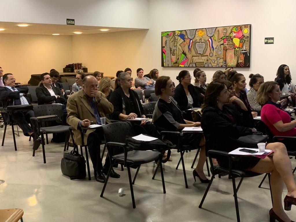 Fotos do primeiro evento do nosso grupo de Estudos de Direito Sindical