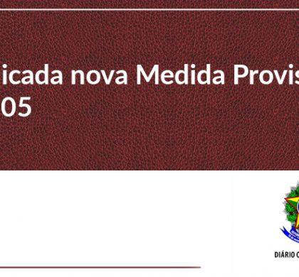 Publicada nova Medida Provisória Nº 905