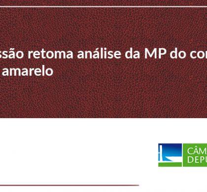 Comissão retoma hoje análise da MP do contrato verde amarelo