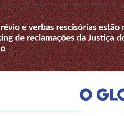Aviso prévio e verbas rescisórias estão no topo do ranking de reclamações da Justiça do Trabalho