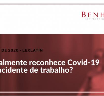 STF realmente reconhece Covid-19 como acidente de trabalho?