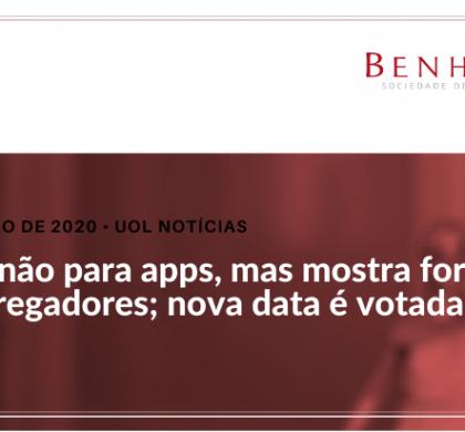 Greve não para apps, mas mostra força de entregadores; nova data é votada
