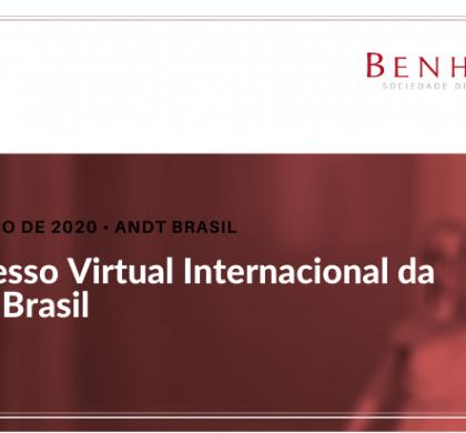 Congresso Virtual Internacional da ANDT Brasil