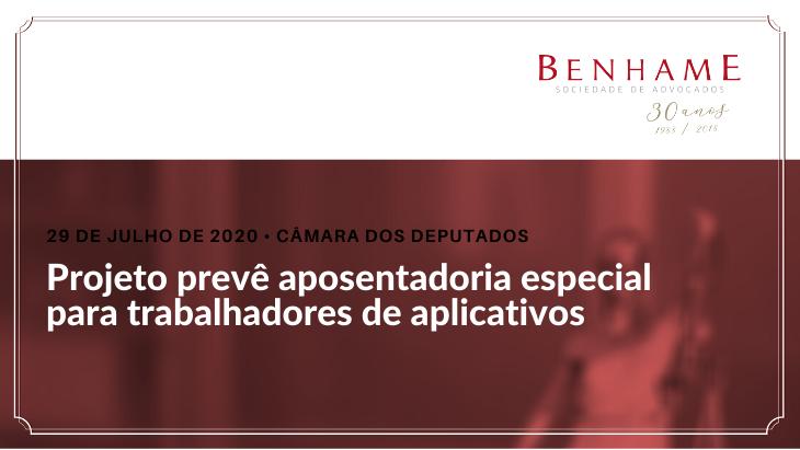 Projeto prevê aposentadoria especial para trabalhadores de aplicativos