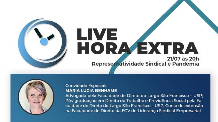 LIVE Hora Extra – Representatividade Sindical e Pandemia