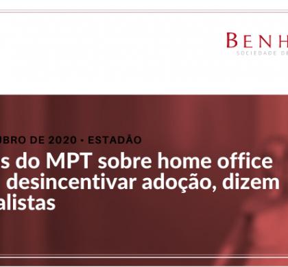 Normas do MPT sobre home office podem desincentivar adoção, dizem especialistas
