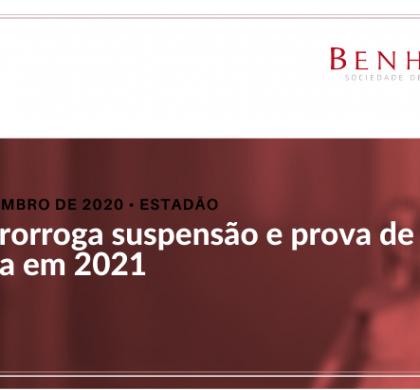 INSS prorroga suspensão e prova de vida só volta em 2021